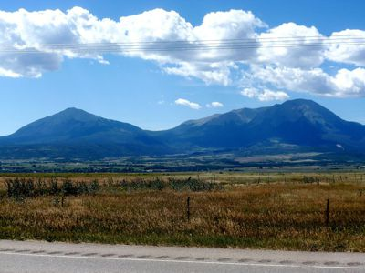 Highway 160 lot for sale in La Veta