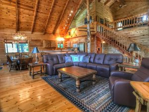 Custom Log Home for sale in La Veta, Colorado