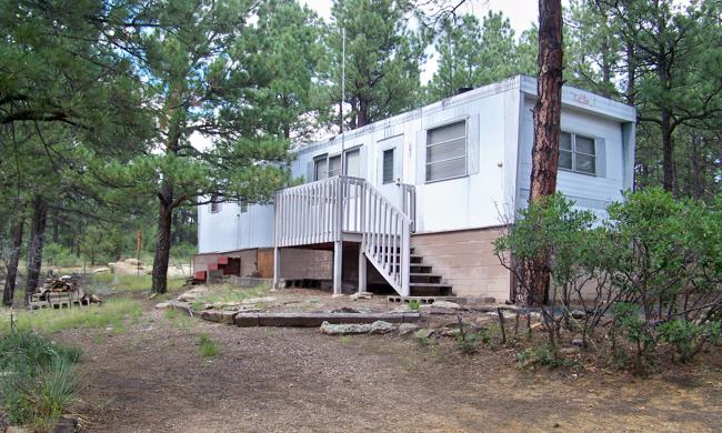 Vacant land with mobile home on 5 acres for sale, for residential, hunting or vacation for sale in La Veta, Colorado