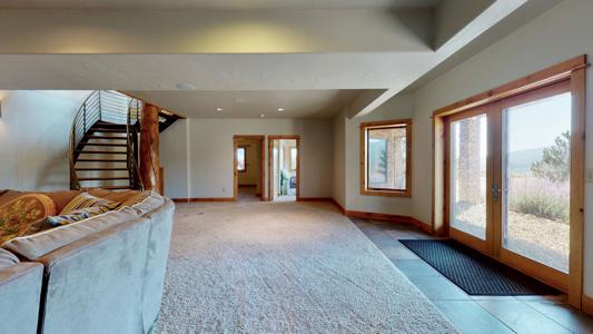 Spectacular Ranch Style Log Home for sale in La Veta, Colorado